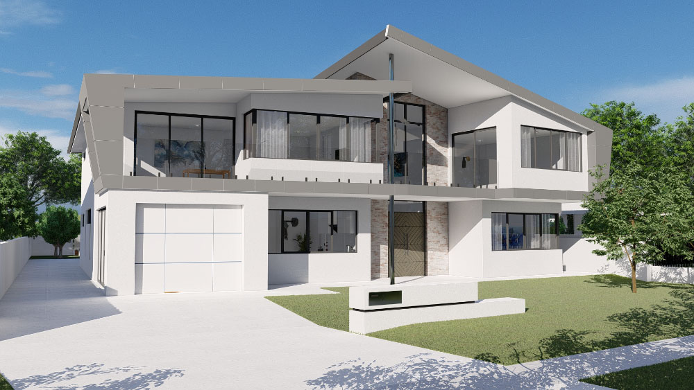 image of Project Tan Front Elevation